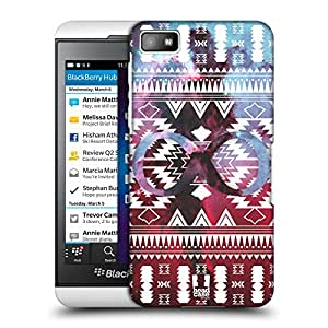 Head Case Designs Navajo Infinity Nebula Tribal Patterns Protective Snap-on Hard Back Case Cover for BlackBerry Z10
