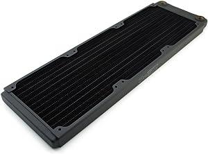 XSPC TX360 Ultra Thin Radiator, 120mm x 3, Triple Fan, Black