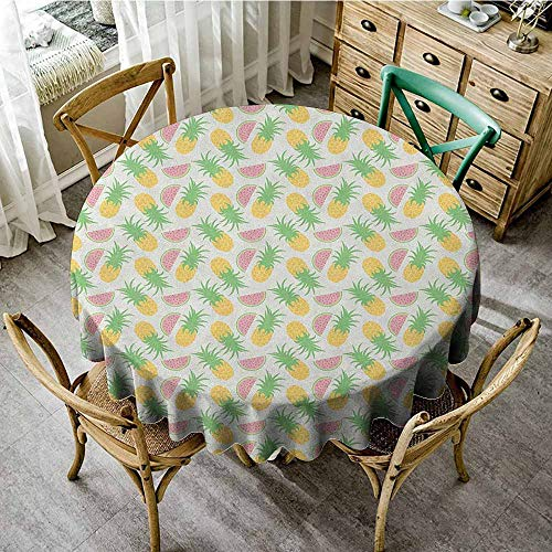 Rank-T Outdoor Round Tablecloth Rectangular 35