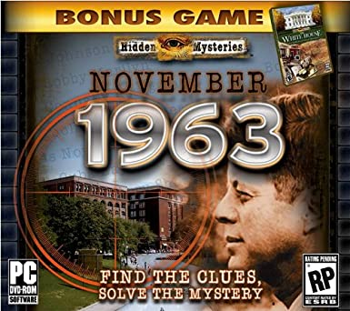 Amazon Com Hidden Mysteries November 1963 Pc Video Games