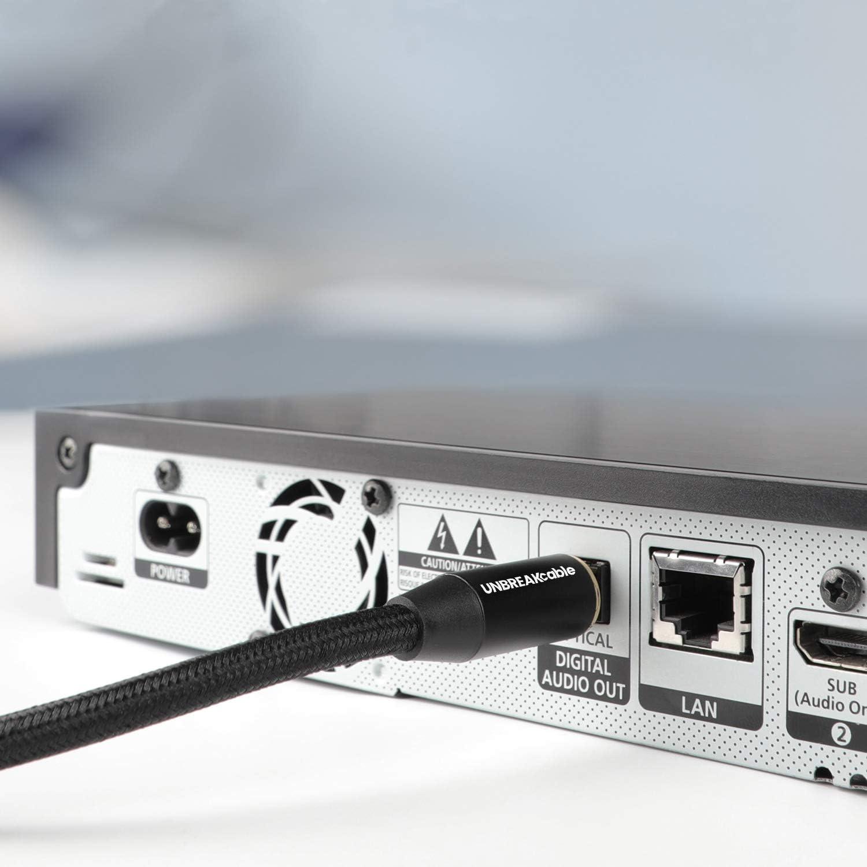 UGREEN Cordon Fibre Optique Toslink C/âble Optique Audio Num/érique Compatible avec Home Cin/éma Barre de Son TV PS3 PS4 Xbox Amplificateur Freebox SFR Box TV Box 3m