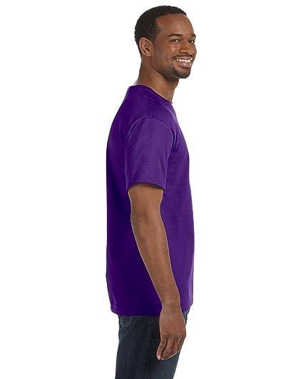 d08a2a6d63 Gildan Mens Heavy Cotton 100% Cotton T-Shirt, 3XL, Purple