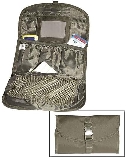f1f586e82c Amazon.com  Mil-Tec British Army Toiletry Bag Olive  Sports   Outdoors