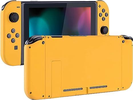 eXtremeRate Carcasa para Nintendo Switch,Funda Completa para Mando Controlador Consola Joy-con de Nintendo Switch Shell de Bricolaje reemplazable con Botón Completo (Amarillo): Amazon.es: Electrónica