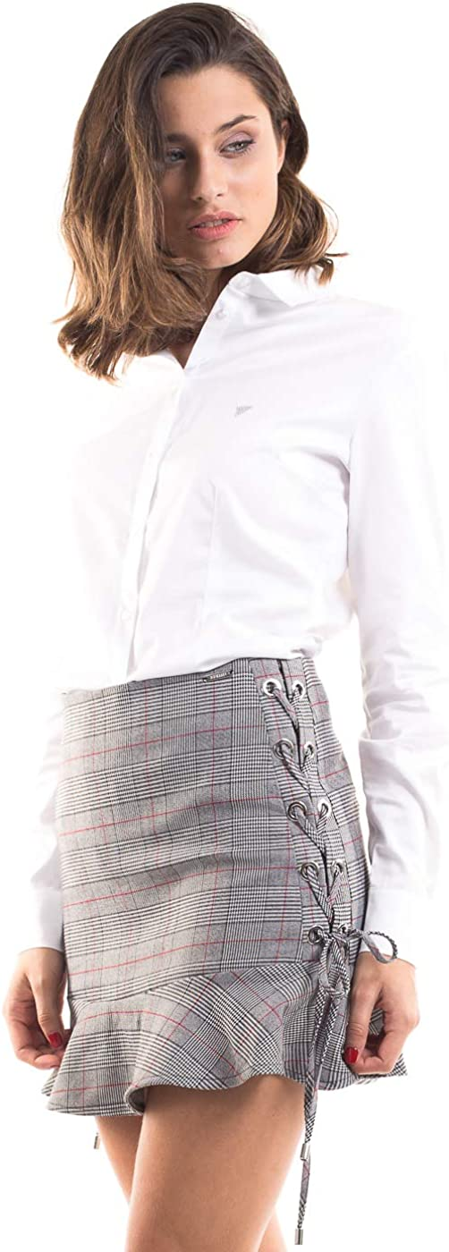 Guess Short Chequered Skirt by Squares