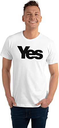 Art Gallery Misr Yes White T-Shirt - 2725608422365