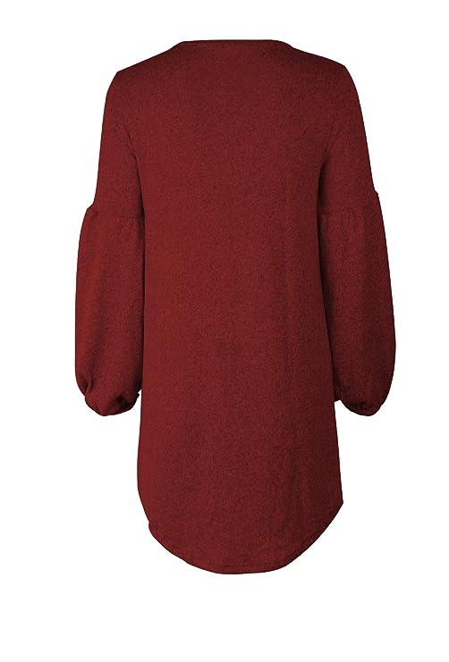 kefirlily Blazer da Donna Cardigan 34 più Lungo Elegante