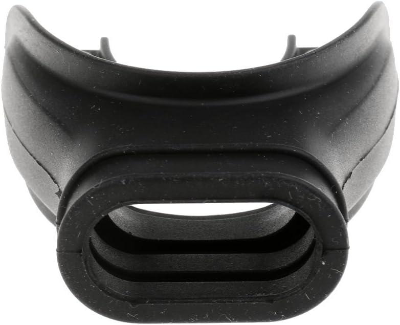 FLAMEER Reemplazo Confort Coj/ín Silicona Boquilla Regulador De Buceo Snorkel