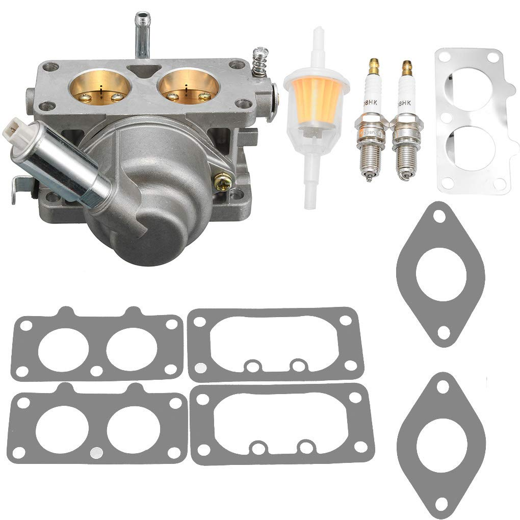 OmkuwlQ Carburetor Carb Replacement for Briggs Stratton 20HP 21HP 23HP 24HP 25HP Intek V-Twin Engine 791230 699709