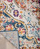 Rugshop Vintage Distressed Bohemian Area Rug 5' x