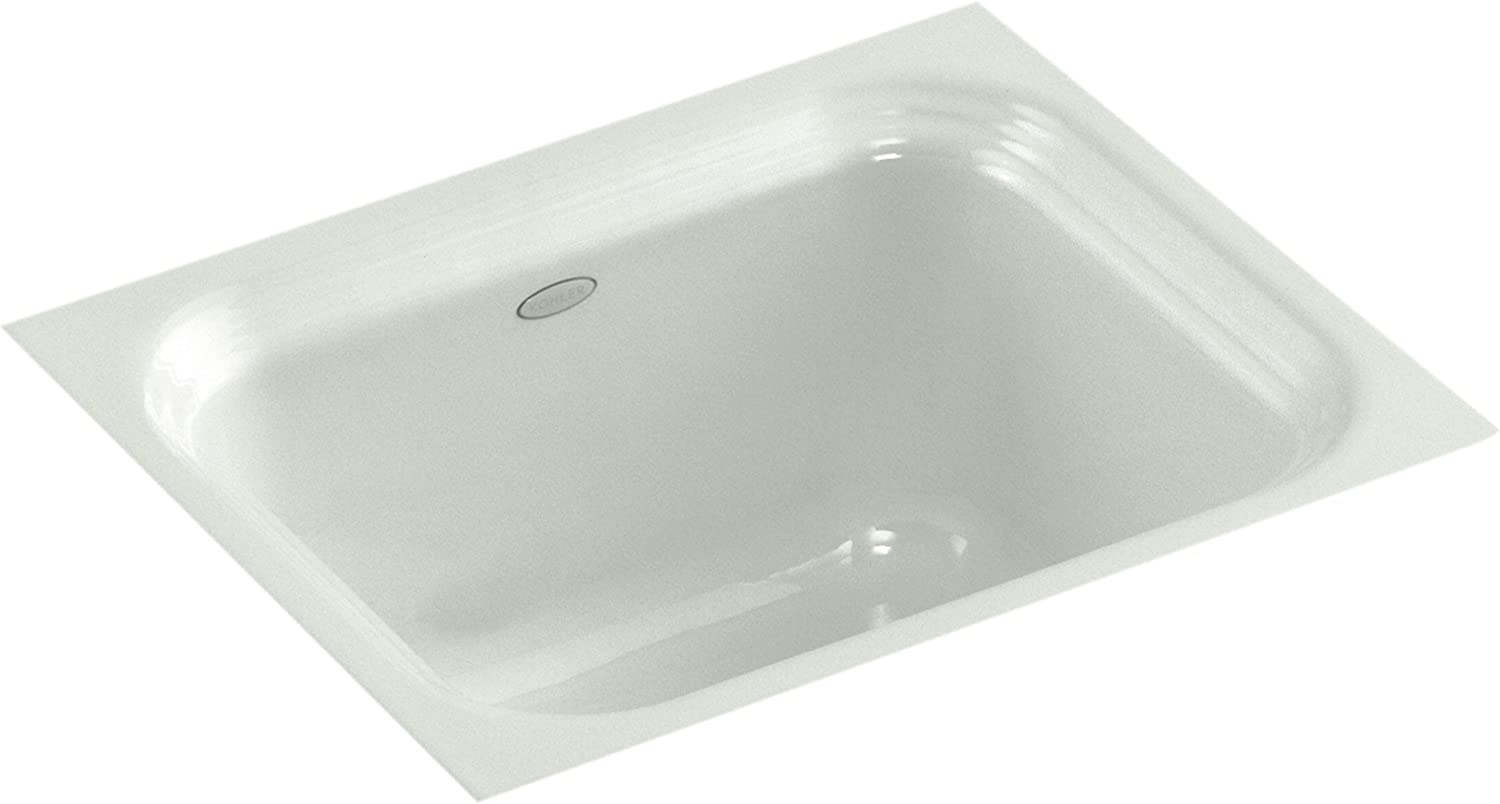 Kohler K-6589-U-FF Northland Undercounter Entertainment Sink, Sea Salt
