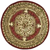 Safavieh Classic Collection CL755A Handmade Traditional Oriental Burgundy Wool Area Rug (2′ x 3′) For Sale