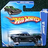 67 black camaro - HOT WHEELS 2010 MUSCLE MANIA 08/10 BLACK '67 CAMARO 094/214 SHORT CARD