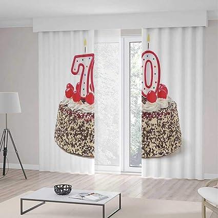 Amazon ALUONI Decor Collection70th Birthday Decorationsfor