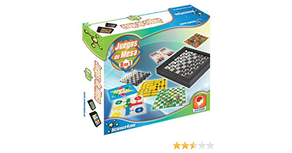 Science4you - Juegos de Mesa 8 en 1: Amazon.es: Juguetes y juegos