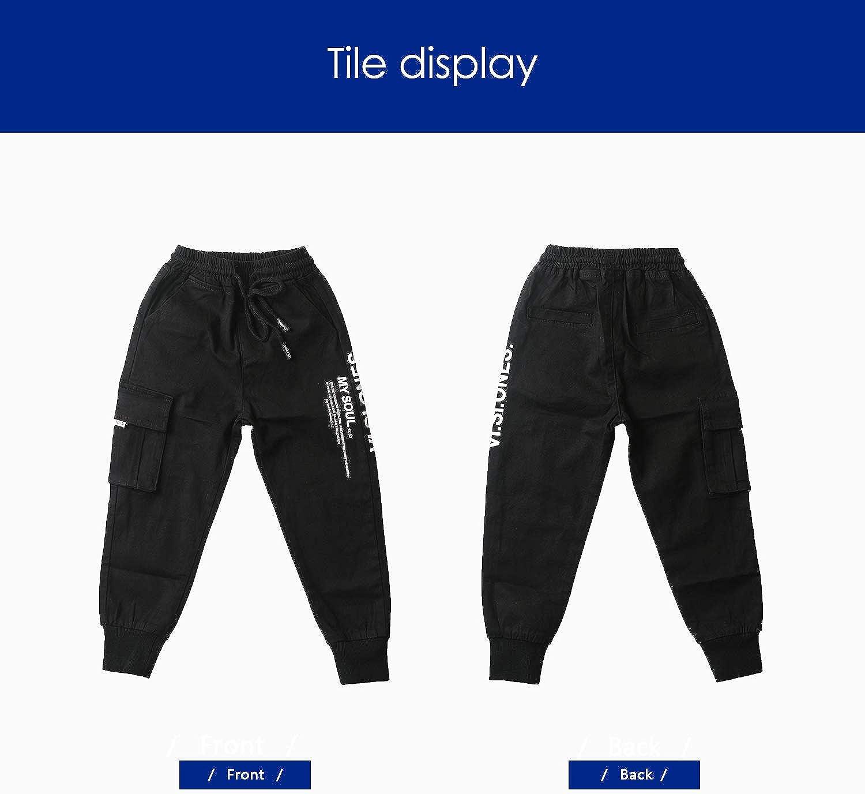 Mini Panda Boys Black Chino Pants Size 5 6 7 8 Slim Husky