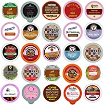 Coffee, Tea, and Hot Chocolate Variety Sampler Pack for Keurig K-Cup Brewers, 100 Count
