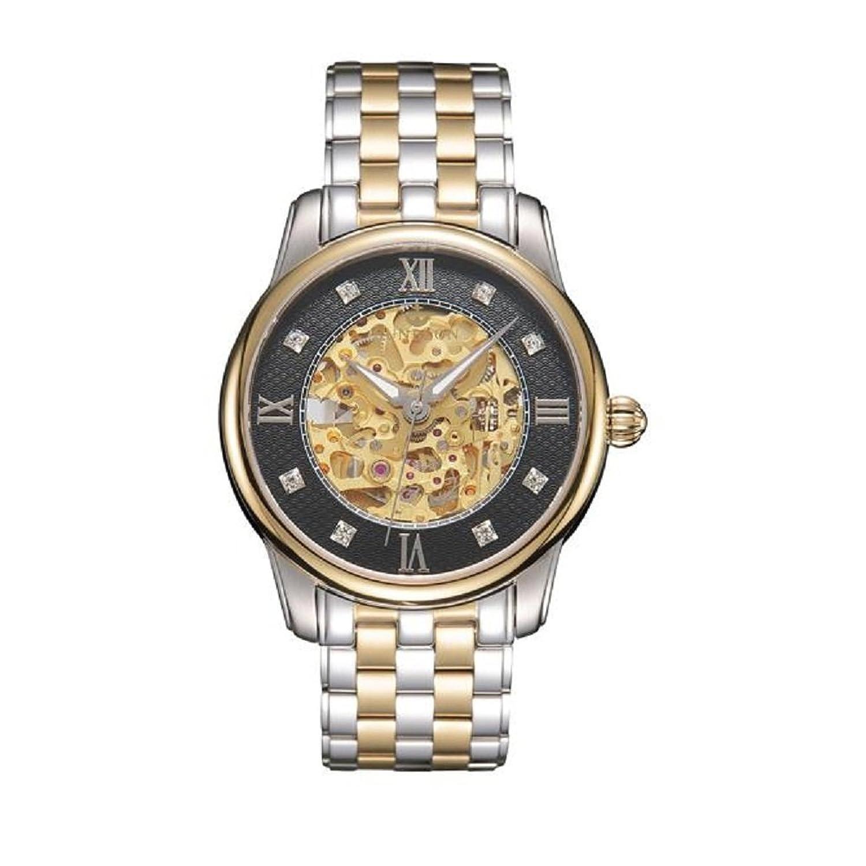 YOKINO SUNBLON 高級ブランド 腕時計 全自動機械式 自動巻き ウォッチ watch 高品質 50気圧防水 日付表示 ステンレススチール おしゃれ ファッション 文字盤 ビジネス カジュアル メンズ腕時計 男女兼用【全5色】 (銀) B01LYGIPLO 銀