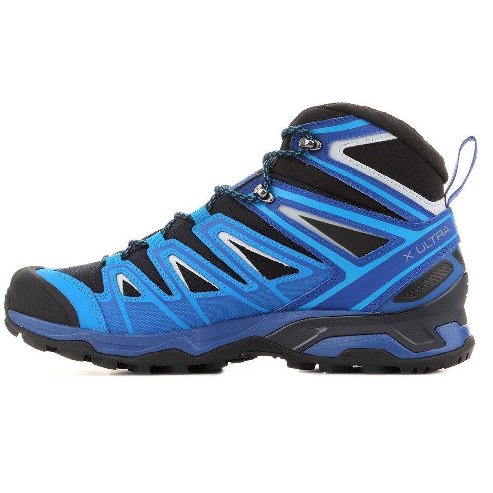 Salomon Mens X Ultra Mid 3 Gtx Trail Sneaker,Navy Blazer/Indigo Bunting/Pearl Blue, 10.5 D(M) US by Salomon (Image #1)