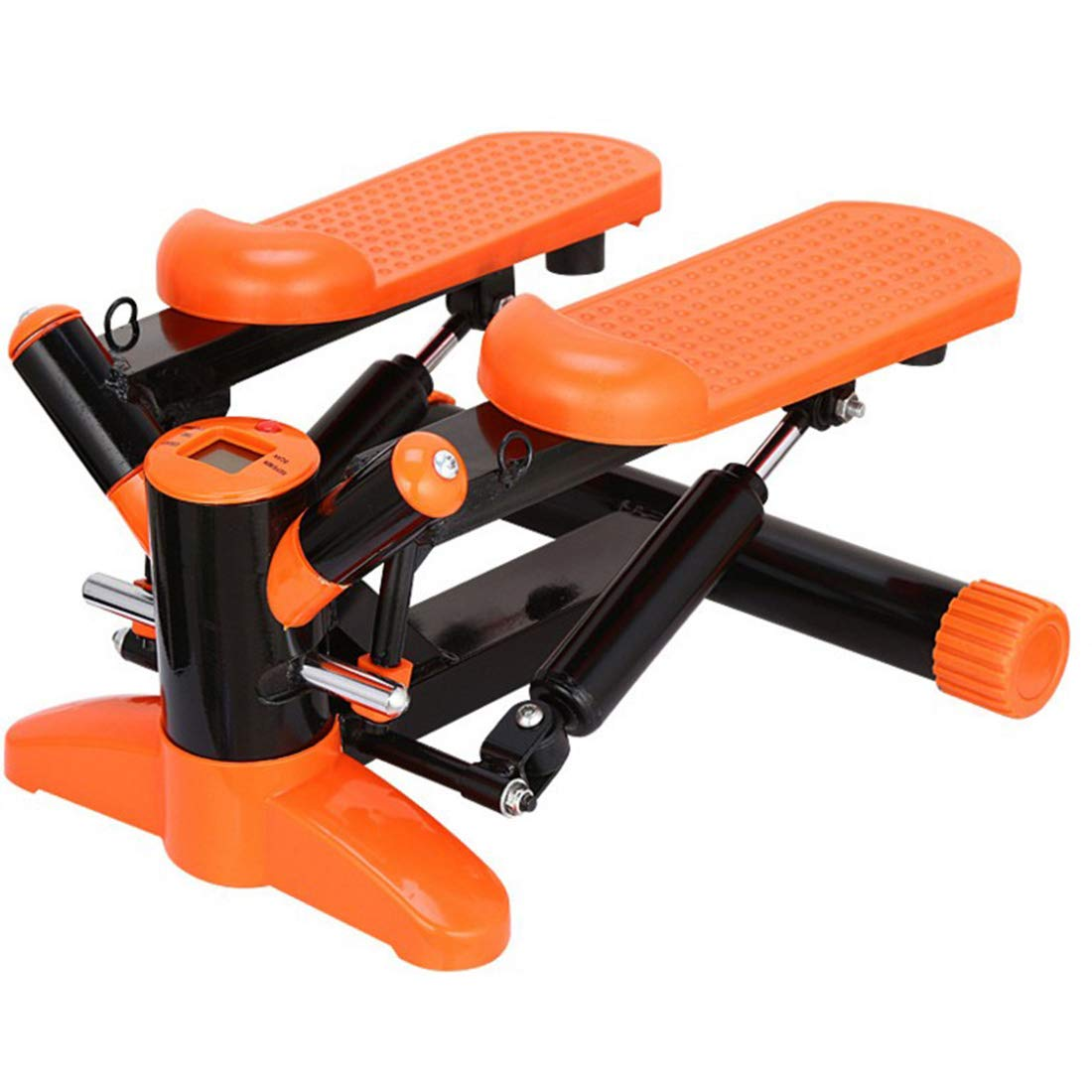 影寳服装店 スイングステップマシン、フィットネス機器、多機能ベルトロープ減量運動マシン、オレンジ (Color : オレンジ)  オレンジ B07QCR9D8Y
