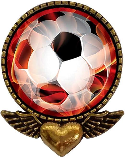 Ancient estilo chapado en oro UEFA Euro balón de fútbol energy ...