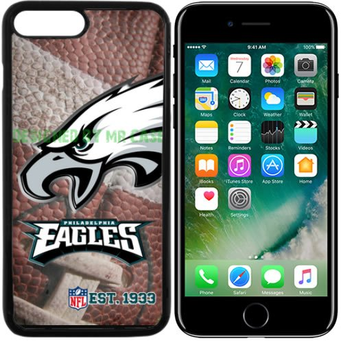 (Eagles Philadelphia Football New Black Apple iPhone 7 Plus Case by Mr Case)