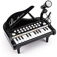 Amy & Benton Piano de Juguete para bebés de 1 2 3 años, Juguetes de Teclado de Piano Musical para niños pequeños, 24…