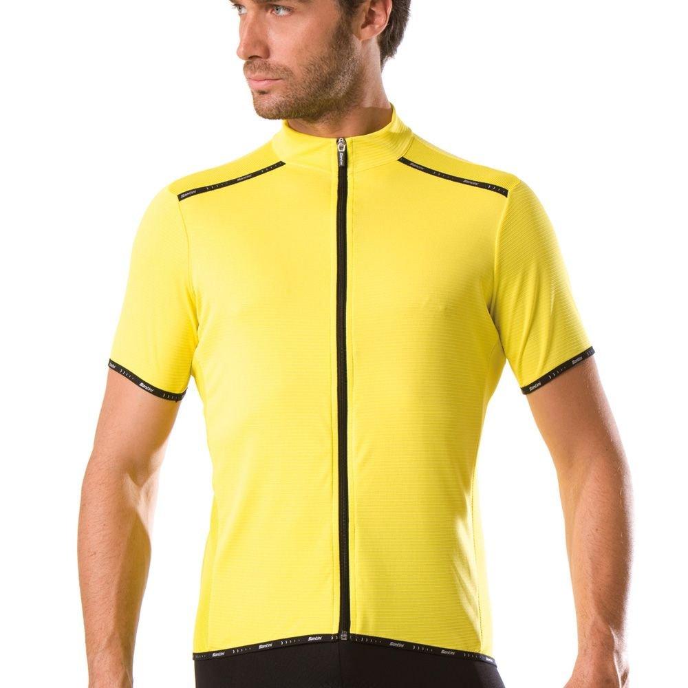 SP94275PRIMO - Santini Primo Short Sleeve Gelb Large £44.99