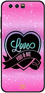 Honor 9 Case Cover Love You and Me, Moreau Laurent Premium Phone Covers & Cases Design