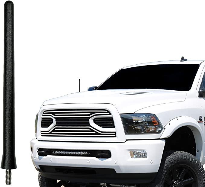 AntennaMastsRus 1998-2003 Made in USA 4 Black Aluminum Antenna is Compatible with Ford Escort ZX2 4350471657