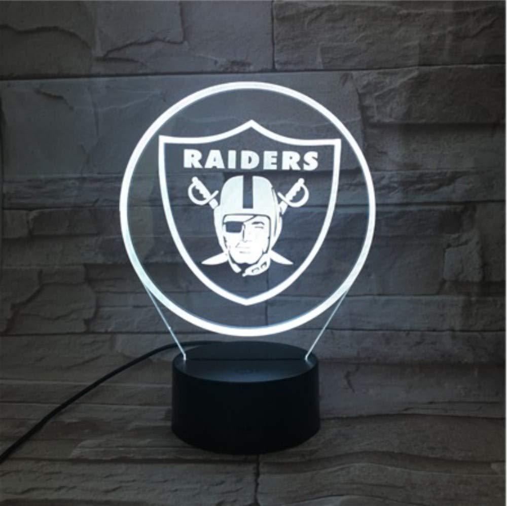 Oakland Raiders Football Night Light