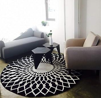 Carpes moderne de style européen salon tapis rond pour salon ...