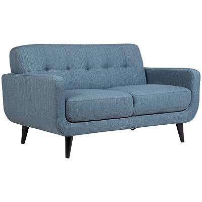 Porter Designs U7777 Casper Loveseat, Blue