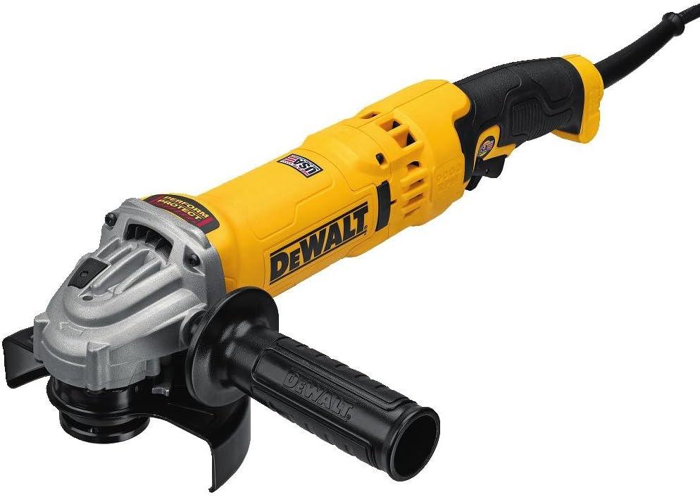 DEWALT Angle Grinder Tool, 4-1 2-Inch to 5-Inch, Trigger Switch DWE43113