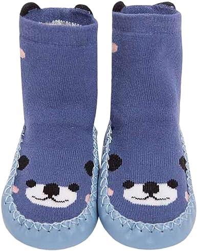 DIGOOD Toddlers Baby Boys Girls Cotton Cute Cartoon Anti-slip Warm Socks