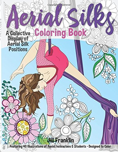 Aerial Silks Coloring Book Collective product image