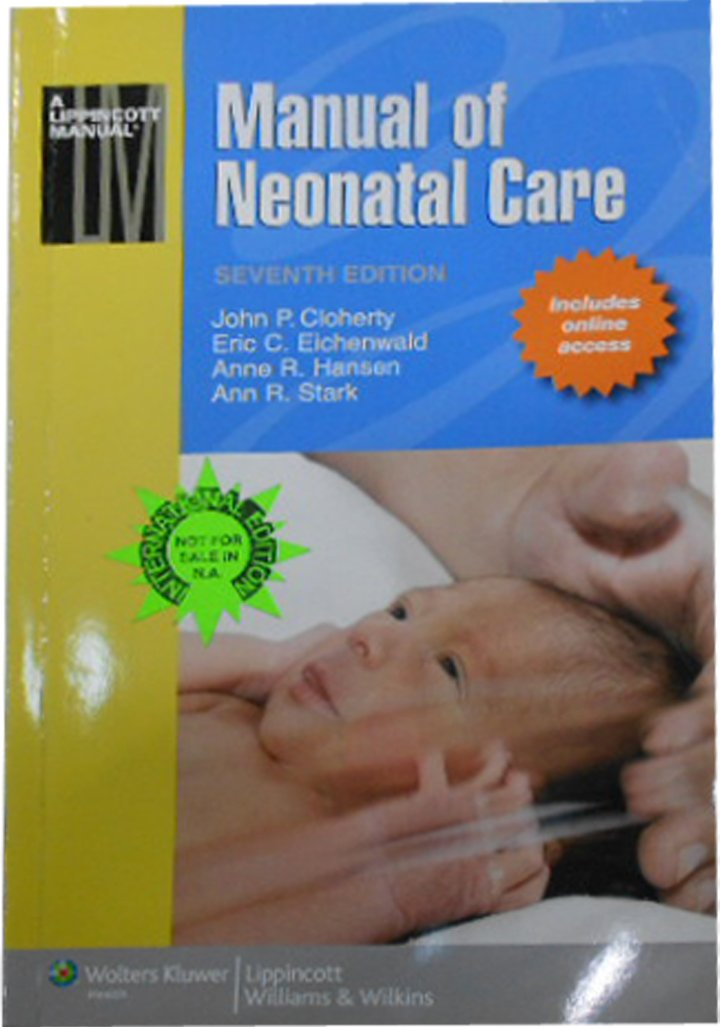 buy manual of neonatal care lippincott manual series book online rh amazon in cloherty manual of neonatal care 7th edition pdf manual of neonatal care 7th edition free download