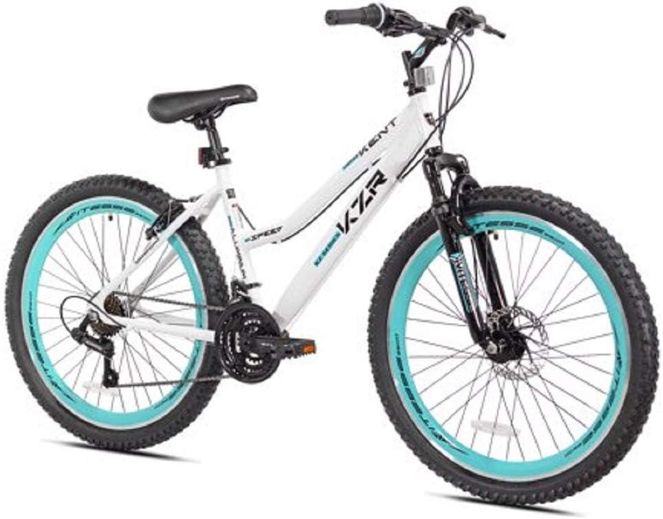 Desconocido Bicicleta de montaña Kent KZR de 26 Pulgadas, Blanco ...