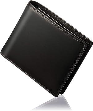 GLEVIO 日本製 栃木レザー 一流の財布職人が作る 財布 メンズ 本革 二つ折り財布