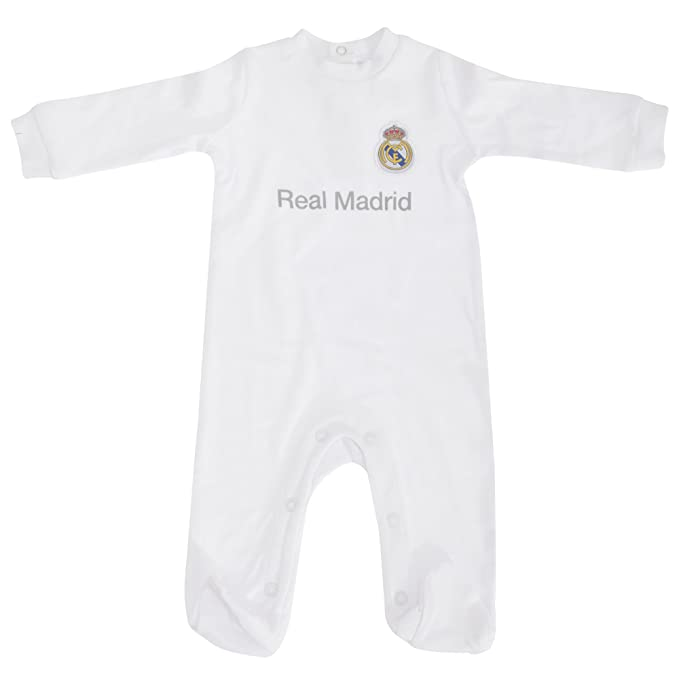 Real Madrid CF - Body Oficial de Real Madrid CF para bebé (12-18