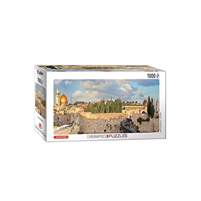EuroGraphics Jerusalem 1000-Piece Panoramic Puzzle: Toys & Games