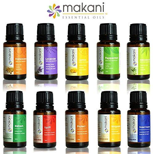 Makani Essential Oils - Grab N' GO 10 Count Essential Oil...