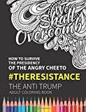We Shall Overcomb: How to Survive the Presidency of the Angry Cheeto: The Resistance: The Anti Trump Adult Coloring Book