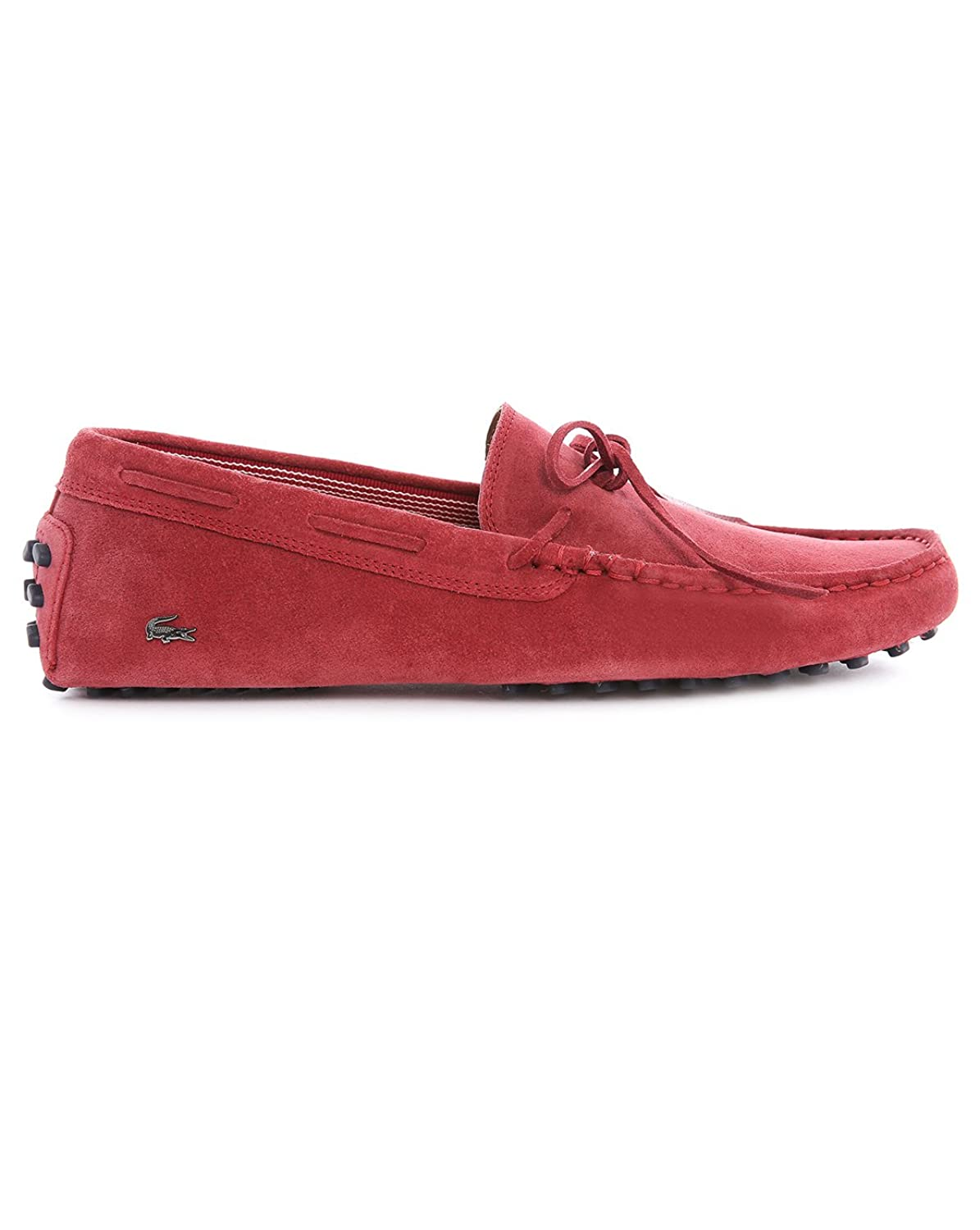 525ca55233ac Lacoste Men s Concours Lace 7 Suede Slip On Loafer Red-Red-11   Amazon.co.uk  Shoes   Bags