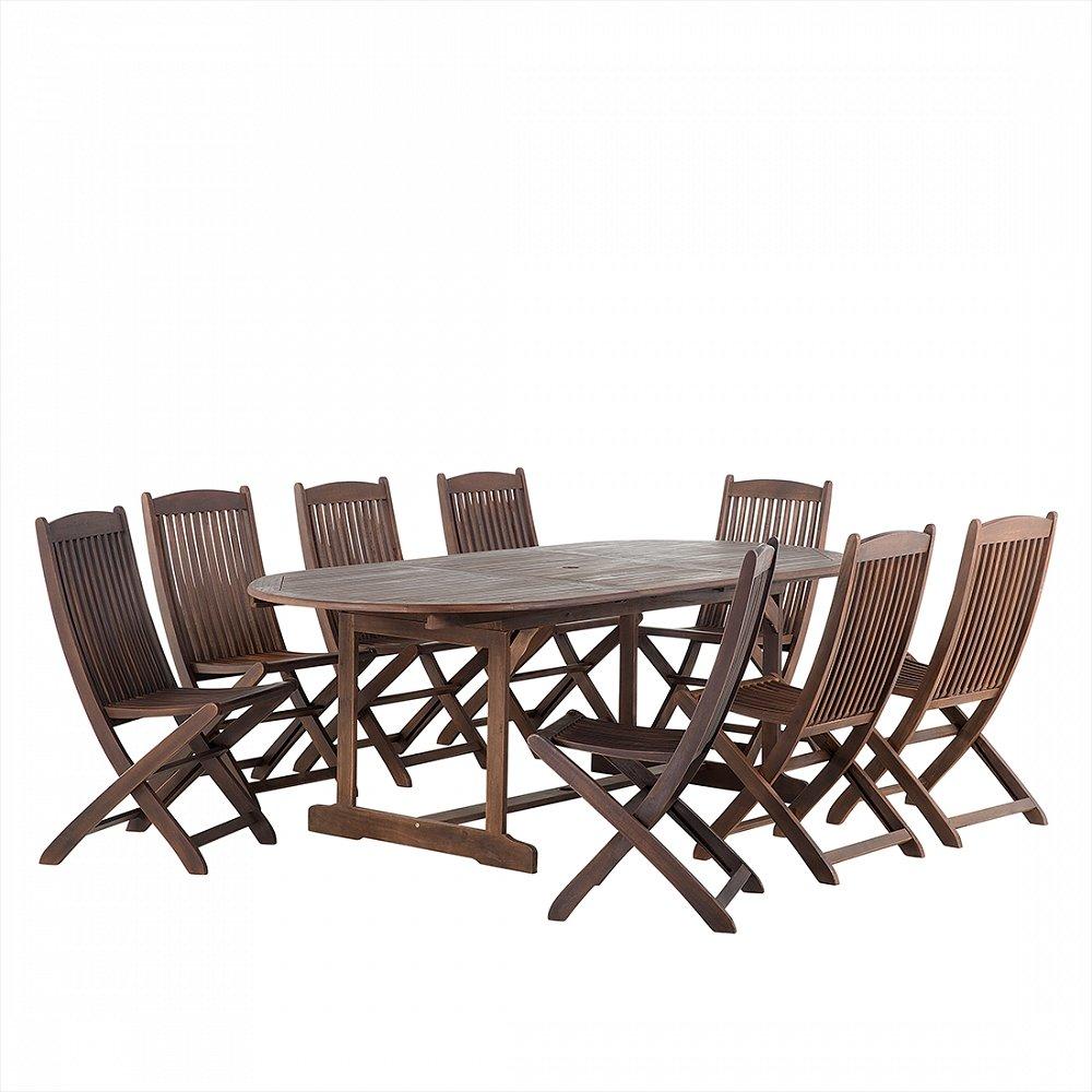 Gartenmöbel Braun Balkonmöbel Holzmöbel Terrassenmöbel Tisch