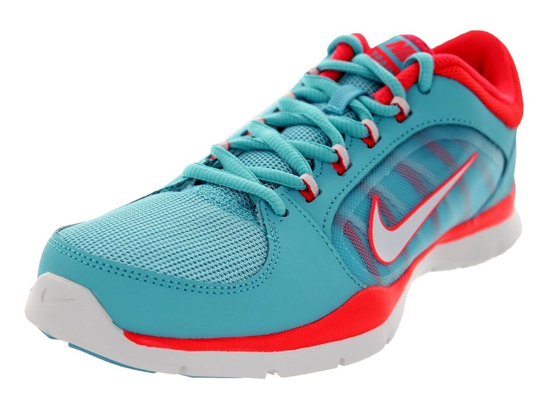 Nike Women's Flex Trainer 4 Plrzd Bl/White/Lsr Crmsn/Lsr C Training Shoe 5.5 Women US