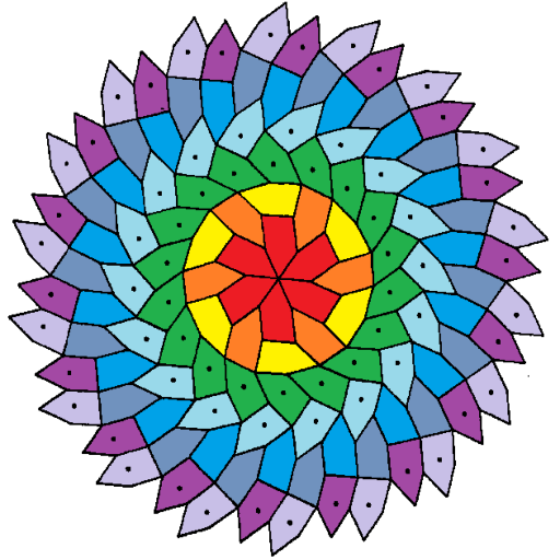 free coloring : art therapy -