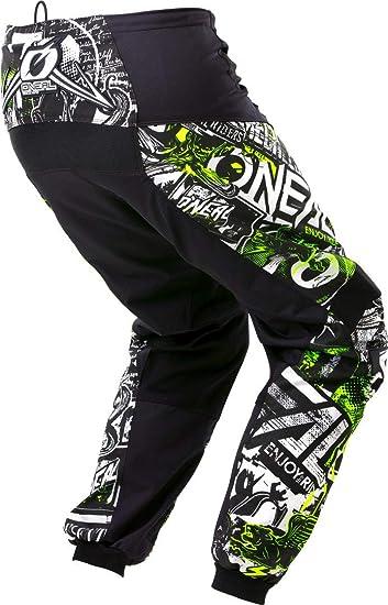 Element Pants Attack Black Hi Viz 32 48 Bekleidung