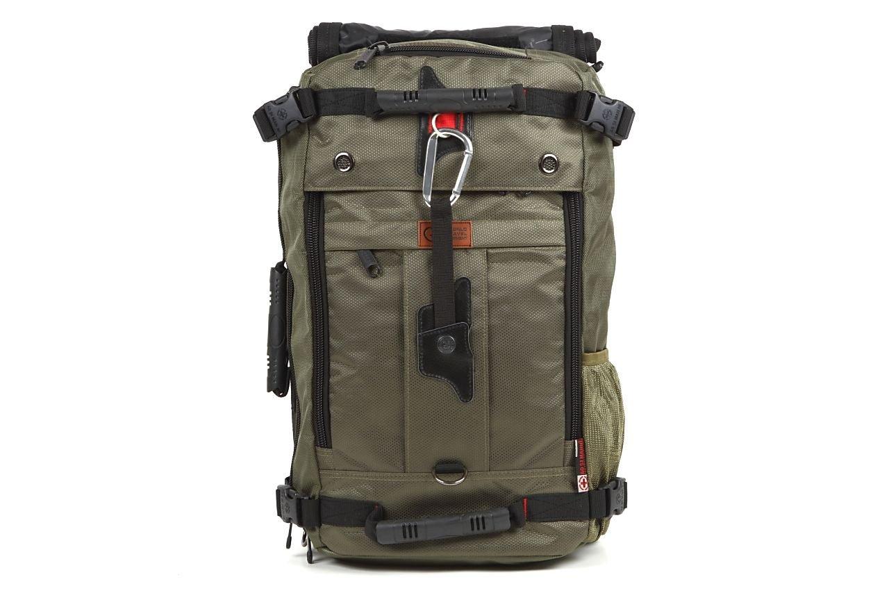 World Travel Equipment 3WAYバックパック 四角いからとにかくたくさん入る大容量 男女兼用/スクエアリュック/旅行出張用 (XL, アーミーグリーン) B01DE575BO X-Large|アーミーグリーン アーミーグリーン X-Large