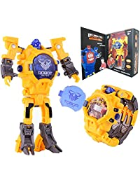 Robot Watch Toys, Rescue Bots Toys for 3-6 Years Old...